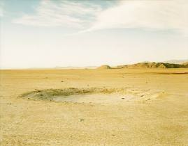 Richard Misrach, Detonation Crater, Wendover Air Force Base, Utah (1989)