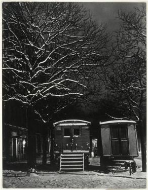 Brassaï, Les Roulottes Boulevard Arago, 1935-1938