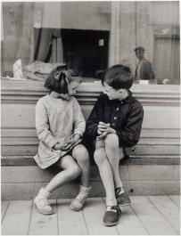 Brassaï, Paulette et André, 1949