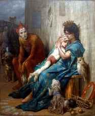 Gustave Doré, Les Saltimbanques, 1874