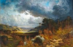 Gustave Doré, Souvenir de Loch Lomond, 1875