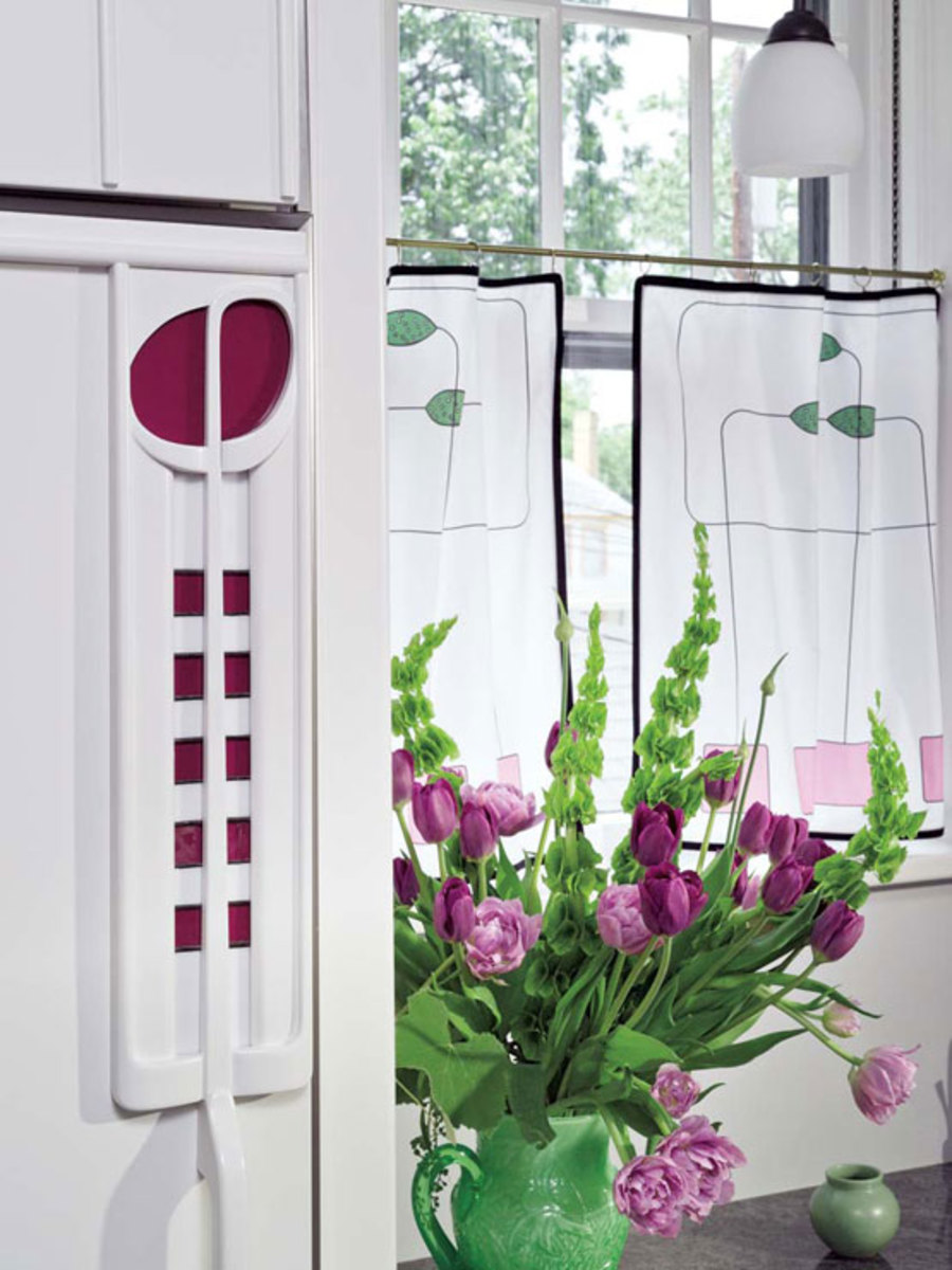 Easy Craftsman Era Curtains Design For The Arts Amp Crafts