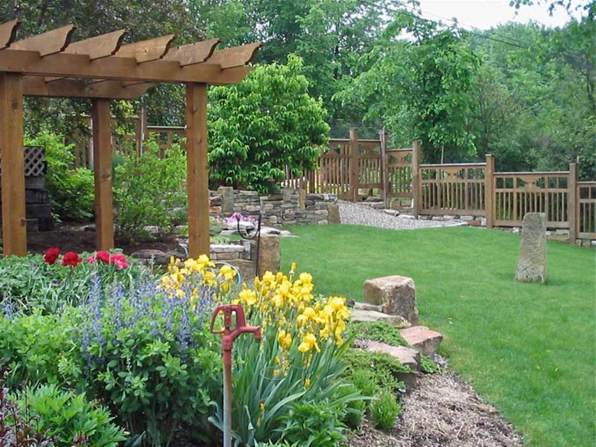 Garden Structures Design For The Arts Amp Crafts House