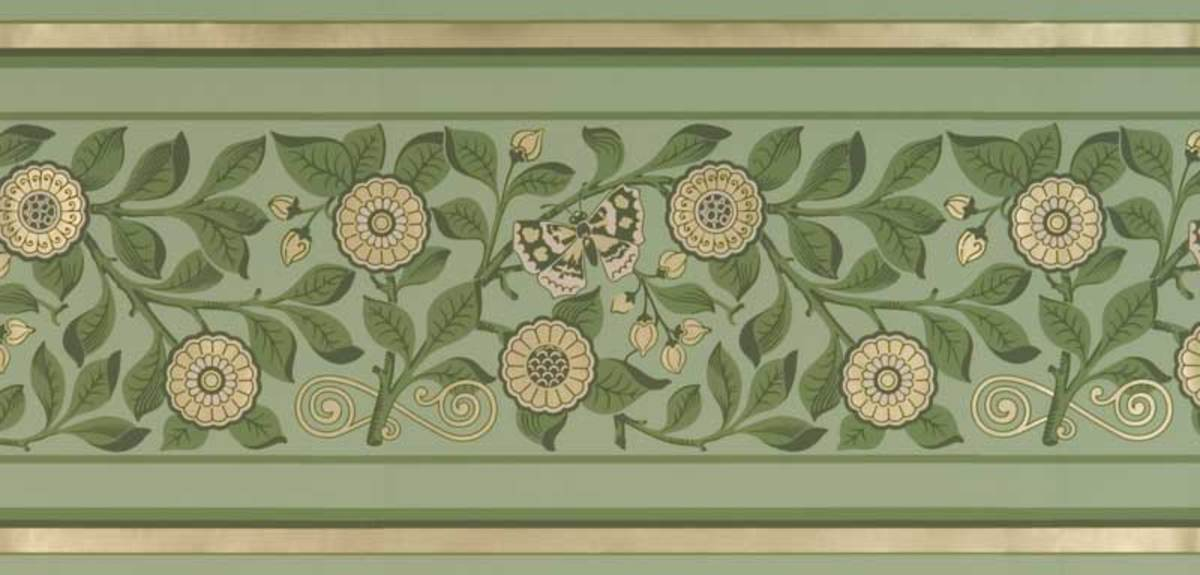 Motifs Of The Revival Butterfly Design For The Arts