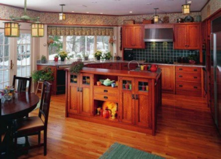 Cabinets Period Revival Design For The Arts Crafts House Arts Crafts Homes Online