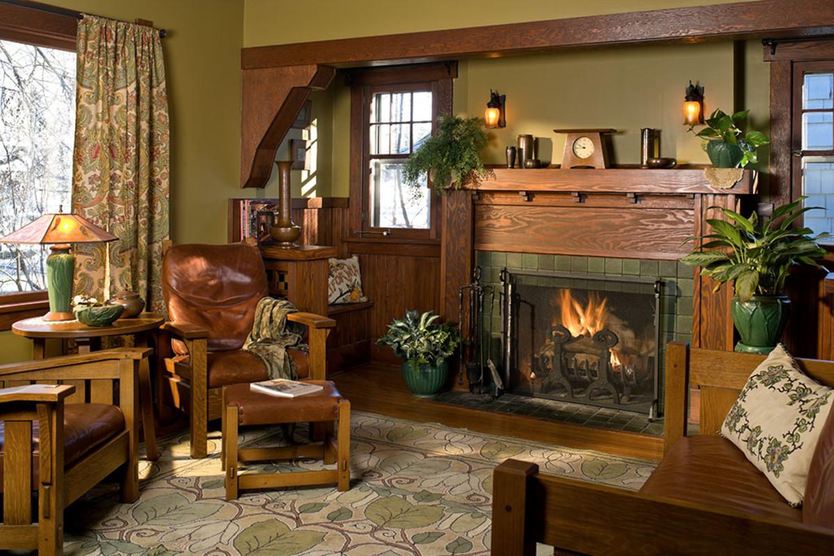 Interior Color Palettes For Arts Amp Crafts Homes Design