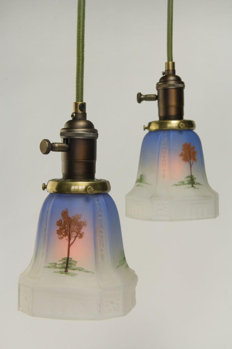 vintage lighting restored design for