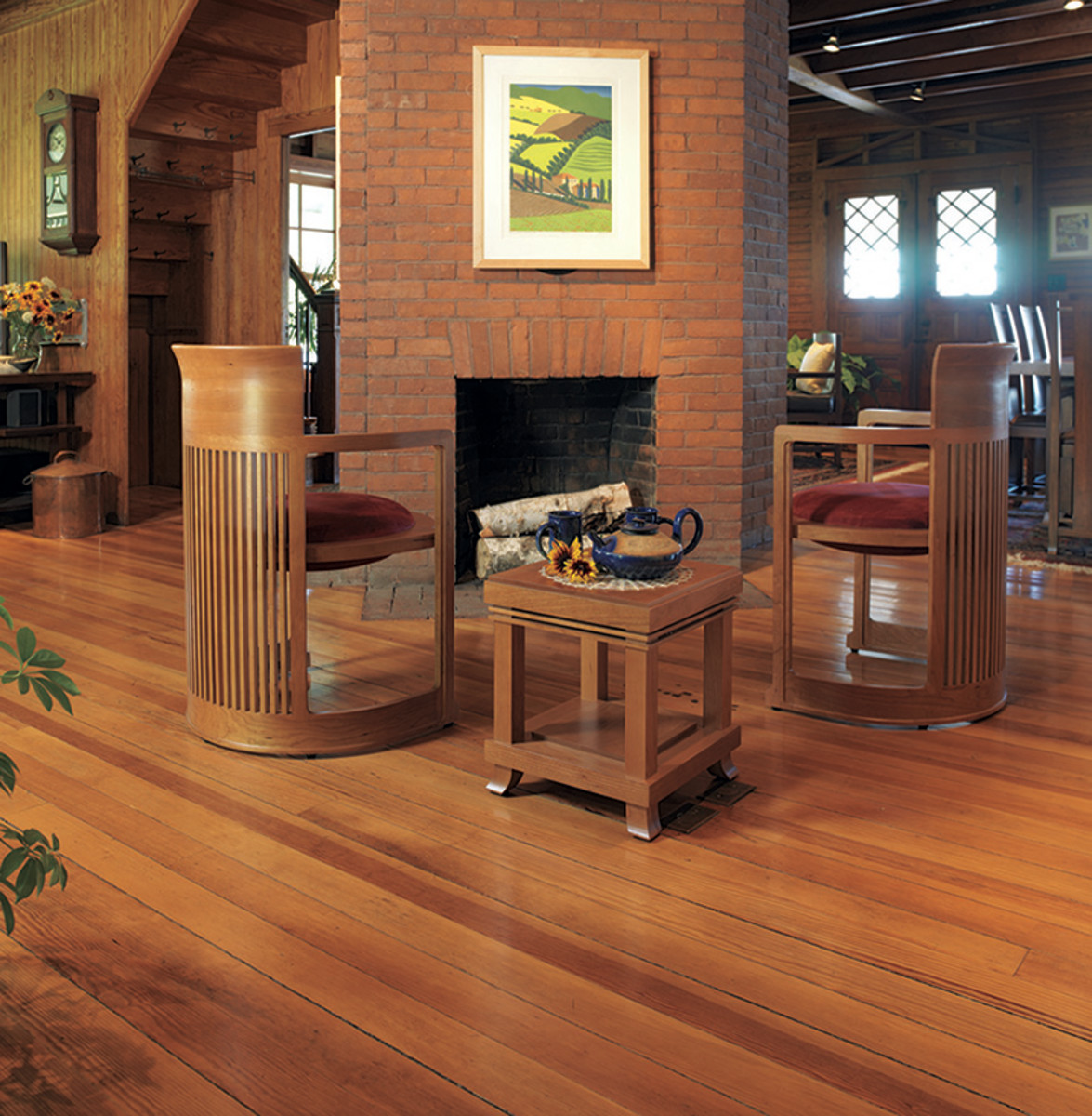 Low Key Floors Design For The Arts Amp Crafts House Arts