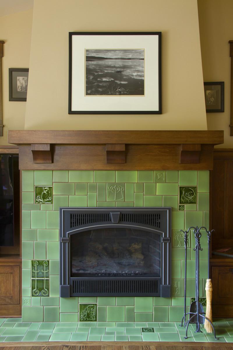 craftsman tile makers design for the