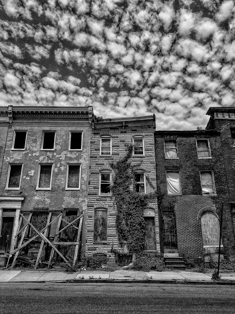 West Baltimore Ruins