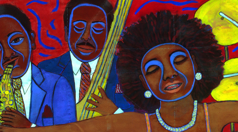 Abstract Impressionists African American