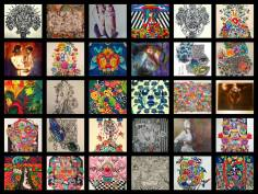 A collection of art by Sandra Mendelsohn