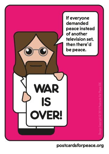 lennon_postcard Post Cards For Peace