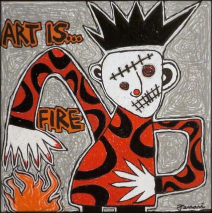 art is fire