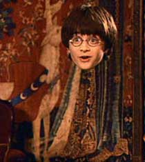 Harry Potters Invisibility Cloak
