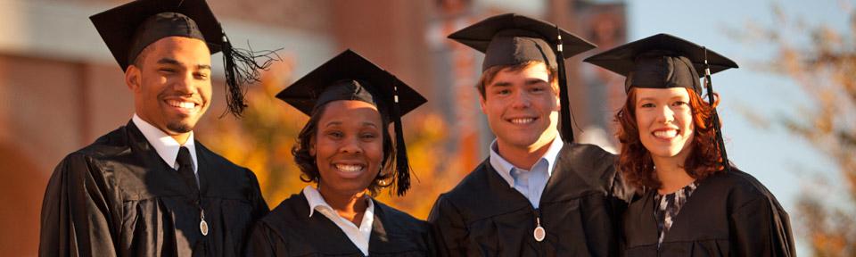 Four Graduates