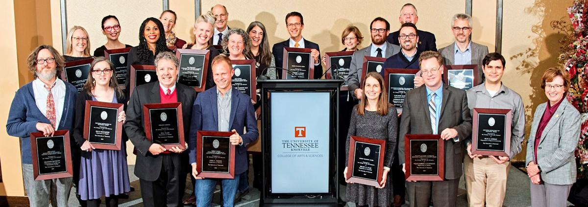 2018 Faculty Award Winners
