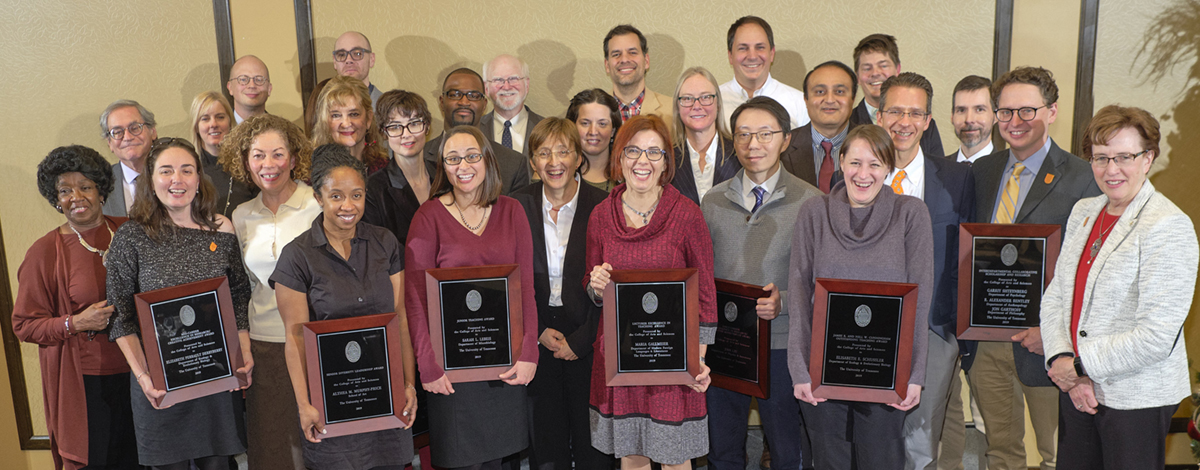 2019 CAS Faculty Awards