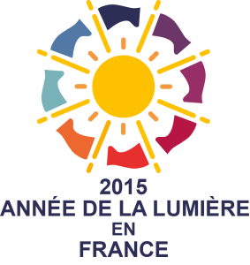 Logo 2015 Année de la lumière en France