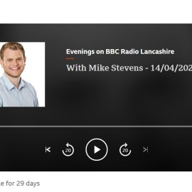 LAP on BBC Radio Lancashire