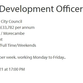 Wanted: Arts & Events Development Officer