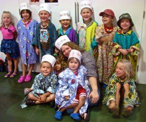 Children at event