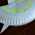 Diy Glow In The Dark Paper Plate Flying Saucer