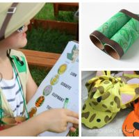 Safari-Themed Playdate and FREE Printable