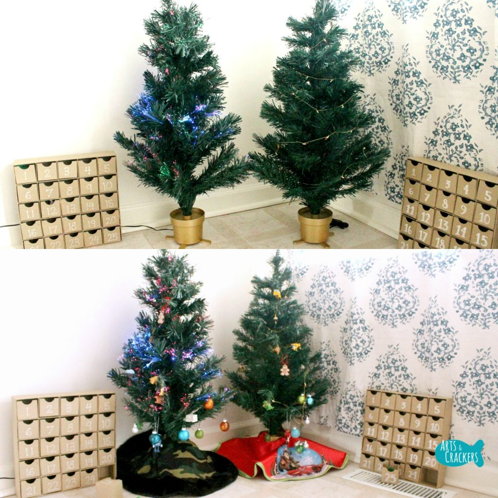 Decorate A Christmas Tree Advent Calendar Activity