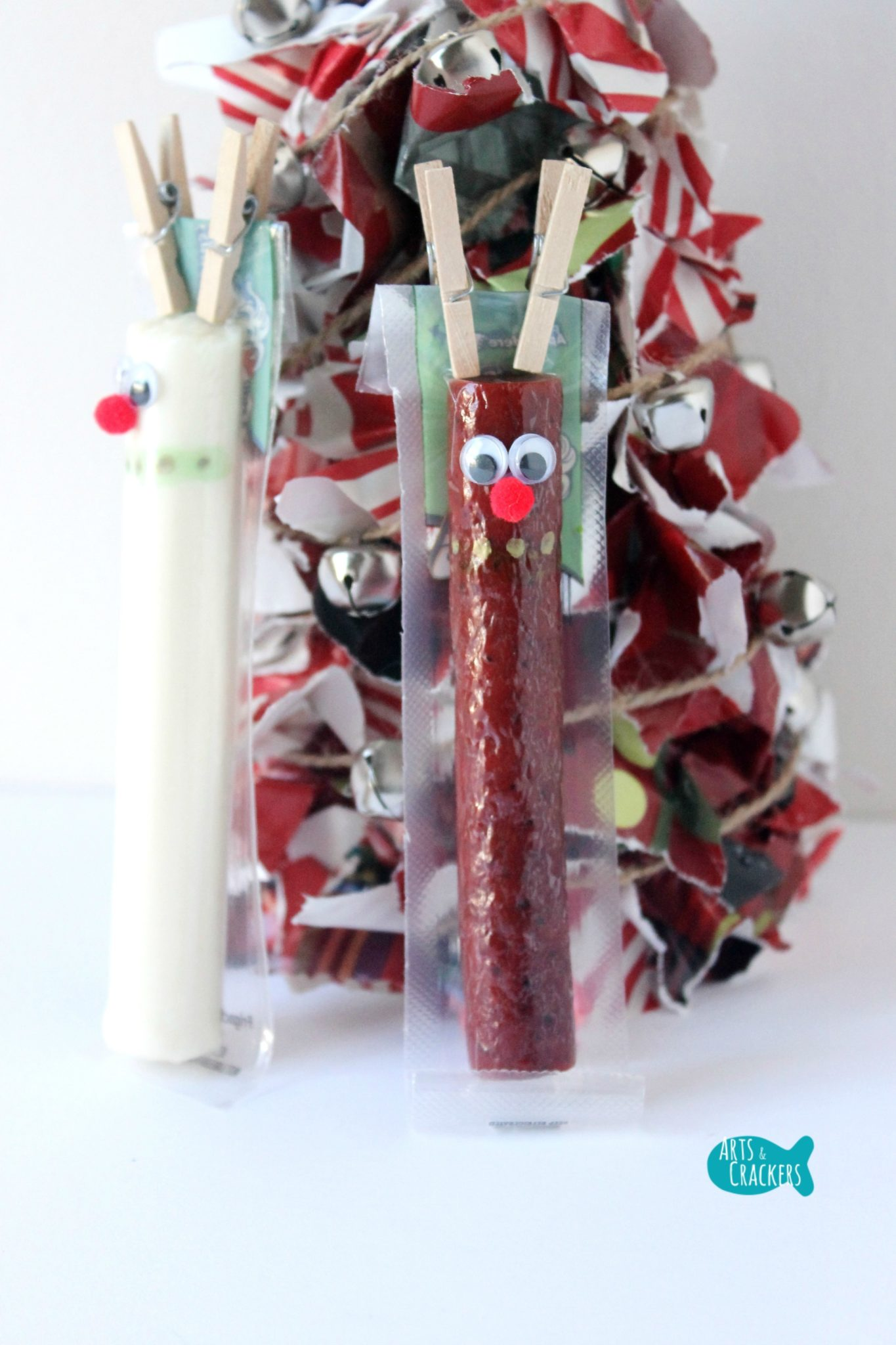 5 Beef StickString Cheese Christmas Snack Ideas