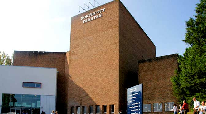 Northcott Theatre, Exeter © Copyright Pierre Terre and licensed for reuse under this Creative Commons Licence