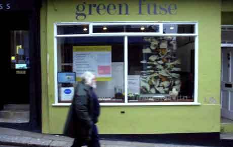 Jan O'Highway's Vanitas the 'Talking Point' at Green Fuse, Totnes