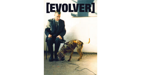 A Portrait of The Artist By A Young Dog by Andrew Bolton, Evolver cover