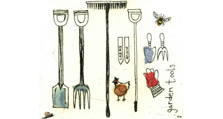 Garden Tools by Maggie Smith