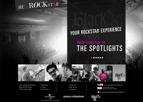 Be A Rockstar with Black XS!