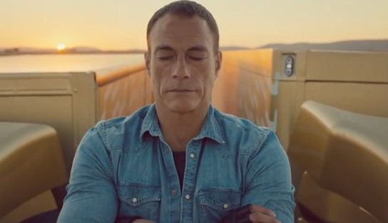Calm, powerful and mesmerising Epic Split from Jean-Claude Van Damme