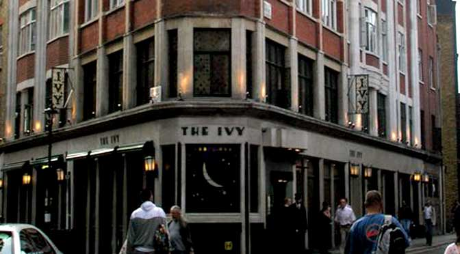The Ivy © Copyright Robin Sones and licensed for reuse under this Creative Commons Licence