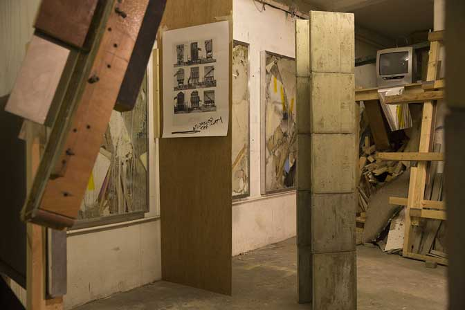 Paul Carter: Hotel Workers takes over at the Exeter Phoenix gallery