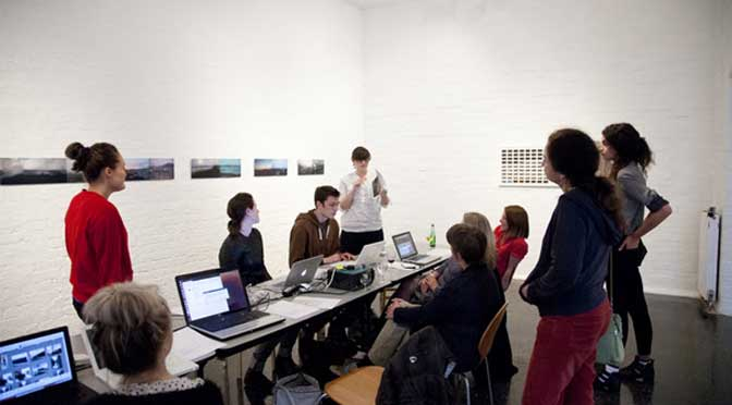 Interested in how art is used in a social context? Artist residency at the Spacex