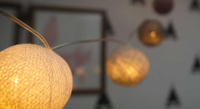 creative lighting in your home