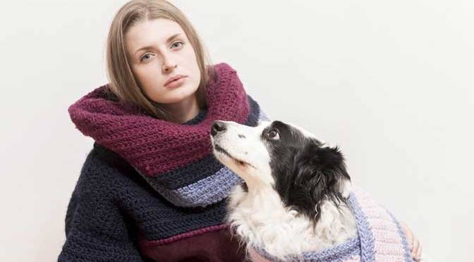 Stacie Clark's new luxury knitwear collection - Photo by Jon Cooney