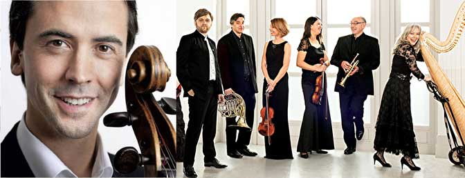 Bournemouth Symphony Orchestra and Jean-Guihen Queyras (inset)