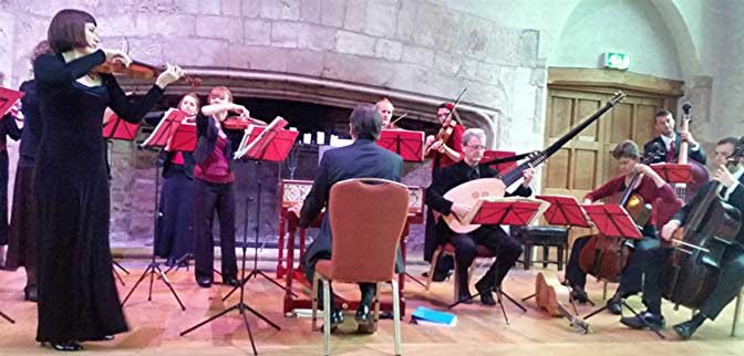 Devon Baroque exudes enjoyment in their Musiciens sans Frontières concert at Dartington's Great Hall (review)