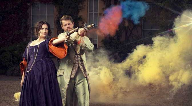 Fashion to dye for – a rainbow of colour bursts into Killerton for new exhibition