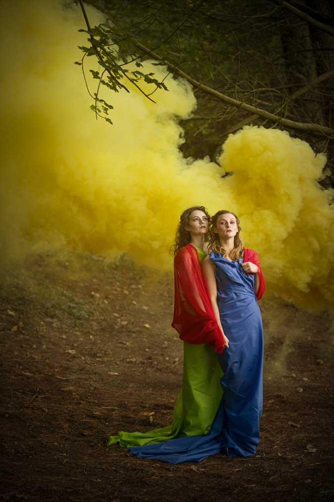 Fashion to dye for. Courtesy of Steve Haywood/National Trust