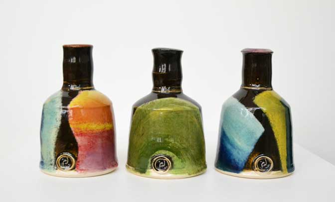 Innovative potter John Pollex solo exhibition at 45 Southside, Plymouth
