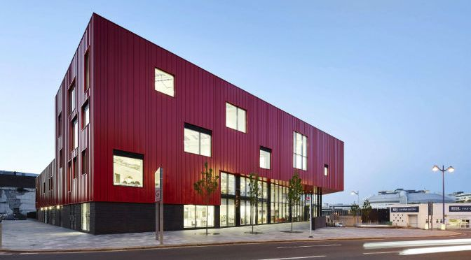 The Red House and Plymouth College of Art shortlisted for prestigious international architectural award