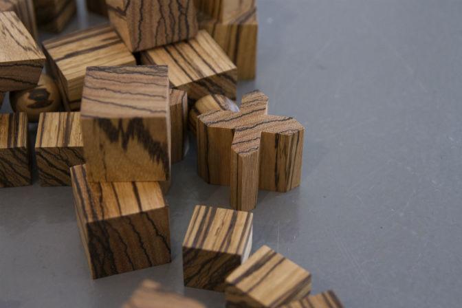 Ryan Gander - Bauhaus Revisited detail - Photo by Sarah Packer