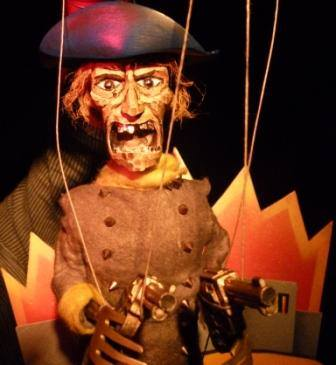 The Wild West comes to Barnstaple Fringe Fest via puppets in SPAGHETTI! (Is a Western)