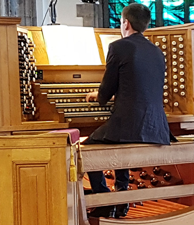 Romantic colours at their best: David Stevens's Organ Recital at The Minster Church of St Andrew